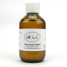 (5,96/100ml) Sala Sternanisöl 100% ätherisches Stern Anis Öl 250 ml Glasfl.