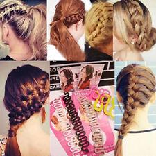 new Fashion Women Hair Styling Clip Stick Bun Maker Braid Tool Hair Accessories