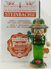 "Steinbach German Wooden Chubby Nutcracker ""Lucky� S 1361 New"