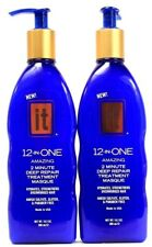 2 It 12 in One Amazing 2 Minute Deep Repair Treatment Masque Hydrates 10.2 oz