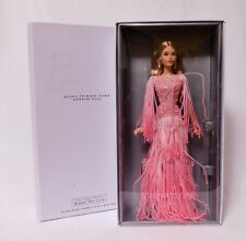 2017 BLUSH FRINGED GOWN BARBIE Platinum Lbl LE 999 BFC Excl_DWF52_NRFB IN HAND!