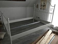 IKEA Bett LEIRVIK, 140x200, weiß, gebraucht, in Top Zustand, mit Kopfteil