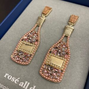 Baublebar New Rose Champagne Earrings/FREE SHIPPING