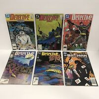 DETECTIVE COMICS # 579,591,602,603,605,726 (FT THE JOKER) VF DC Comic lot Batman