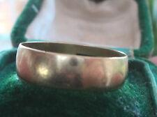 9ct Yellow Gold Wedding Ring 1991 Birmingham  - size R