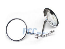 Right Hand Thread 10mm Rear View Mirrors Chrome Moped Scooter GY6 VENTO I MI02