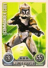 Star Wars Force Attax  Commander Cody #018