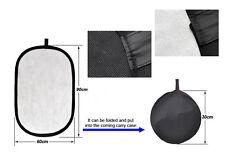 Plaque Diffuseur Noir/Blanc  2en1, 60x90cm(photo extérieure, mariage)