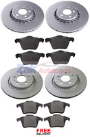 FOR VOLVO XC 90 XC90 2.4 D5 2.5 2.9 T6 FRONT & REAR BRAKE DISCS & PADS SET *NEW*