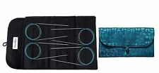 HiyaHiya Sharp Steel Magic Loop Sock Knitting Needle Gift Set Knit Yarn Craft