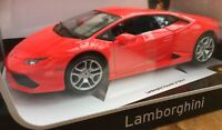 BURAGO 11038R LAMBORGHINI HURACAN LP 610-4 diecast model road car red body 1:18