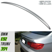 2007-2013 BMW 3-Series E92 Coupe M3 Rear Trunk Spoiler ABS Painted 354 325i 328i