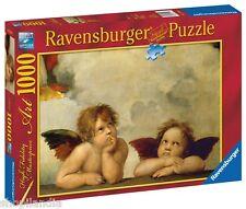 RAVENSBURGER 15544 RAFFAELLO QUERUBINES ANGELS Puzzle 1000 Piezas Pieces Jigsaw