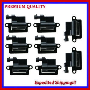 8PC UCE314 IGNITION COIL for CHEVROLET AVALANCHE1500 5.3L V8 2002 2003 2004 2005