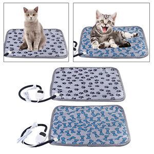 Electric Heating Mat Blanket Pet Cat Dog Heater Pad Bed Winter Waterproof