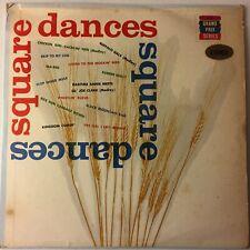 Roy Horton & His String Band Square Dances LP Vinyl Bravo Records