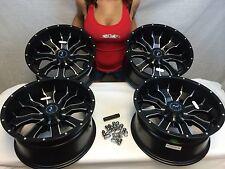 "Set of 4 14"" RACELINE MAMBA rims for Polaris Rzr XP1000 wheels xp 1000 2014-2017"