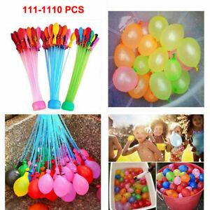 222-1110 Stück Wasserballon Wasserbomben Draußen Party Urlaub Sommer Kinder Toys