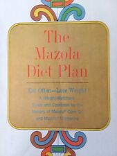 Vtg 1964 The Mazola Diet Plan Cook Book Weight Watchers Guide and Cook Book