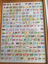 'Eurographics' Flags of the World-1000 Piece Jigsaw Puzzle. Complete.