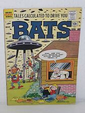 TALES CALCULATED to DRIVE YOU BATS #3 - Archie Adventure Series - UFO - FN- 1962