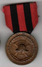 Original post WWI Imperial German Wurttemberg Fireman Service Medal Fire Fighter
