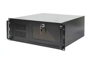 "19"" Rack Server Gehäuse 4U / 4HE schwarz - NEU"