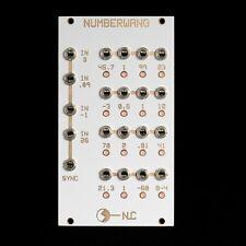 Nonlinearcircuits Numberwang Eurorack Synth/CV Module New Build