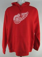 Detroit Red Wings NHL Fanatics Men's Pullover Hoodie Flawed