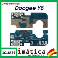 PLACA DE CARGA PARA DOOGEE Y8 CONECTOR USB ANTENA PUERTO INFERIOR MODULO