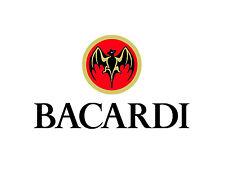 "Bacardi Vinyl Sticker Decal 14"" (full color)"