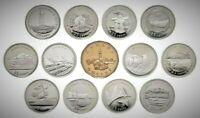 Canada 1992 125th Anniversary Provincial BU UNC Commemorative 13 Coin Set!!