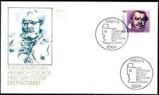 BRD 1993: Heinrich George! FDC der Nr. 1689 mit Berliner Sonderstempeln! 1812