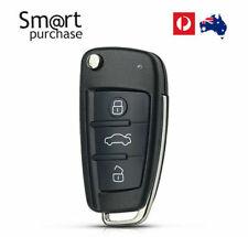 Audi A3 A4 A6 A8 Q5 Q7 TT S LINE RS Remote Flip Key Shell/Case/Fob 3 Button y