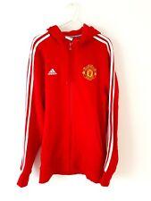 Manchester United Track Top Jacket. Medium. Adidas. Red Adults Man Utd M.