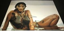 Jessica Gomes Nude In Mud Sports Illustrated Model Signed 11x14 Photo Proof COA