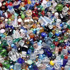 100pcs Assorted Glass Loose Beads Bulk Mixed Lot Craft Jewelry DIY Making