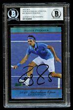 Roger Federer #31 signed autograph 2011 Ace Australian Open Foil Card BAS