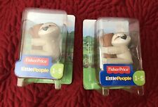 FISHER PRICE LITTLE PEOPLE SLOTH SET OF 2 BRAND NEW SO CUTE!