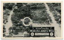 "Vintage Postcard: ""Stop! See The World's Largest Well"" [Greensburg, Kansas]"