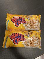 2 PACK Post Waffle Crisp Cereal-Unopened Sealed Bag 2lb - Exp 12/21