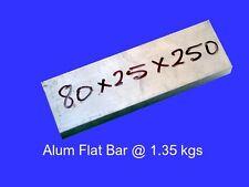 Aluminium Flat Bar 80 x 25 x 250 mm ( 6060 T5 )-OG