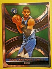 KARL-ANTHONY TOWNS #273 ( FOIL )  PANINI  NBA 17/18 EUROPEAN EDITION STICKER
