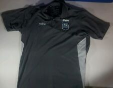 IPSWICH TOWN FOOTBALL CLUB ™ Homme Gris MITRE Polo * 24 W 31 L 2 XL **
