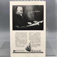 Vintage Magazine Ad Print Design Advertising Magnavox Radio Phonograph