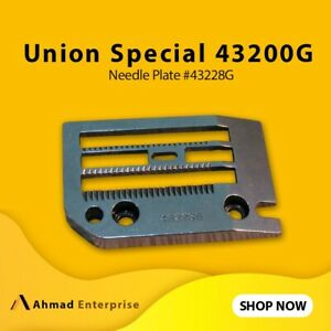 Needle Plate Rare Union Special 43200 G  ( 43228 G )