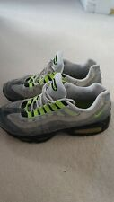 outlet store a8768 66327 Nike Air Max 95 Og Neon Size 8.5 Uk