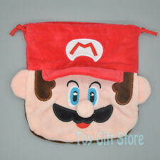 Super Mario Bros Birthday Party Favor Candy Drawstring Plush Bag
