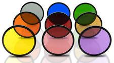 Opteka 52mm 9 Multi-coated Solid Color Special Effect Filter Kit For Digital SLR
