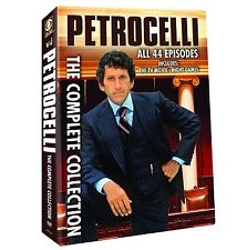 PETROCELLI : THE COMPLETE COLLECTION SEASON 1 & 2 - DVD - UK Compatible